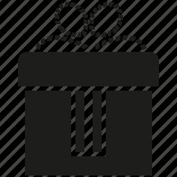 box, gift, gift box icon