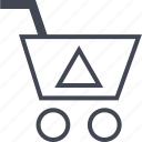arrow, buying, cart, ecommerce, shop, shopping icon