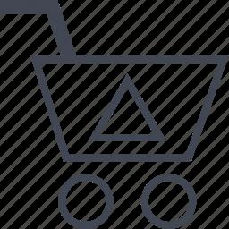 arrow, buying, cart, ecommerce, shop, shopping icon