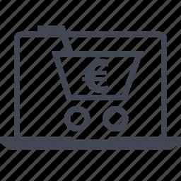 buying, cart, ecommerce, go, shop, shopping icon