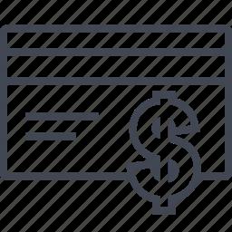 buying, card, dollar, ecommerce, shop, shopping icon