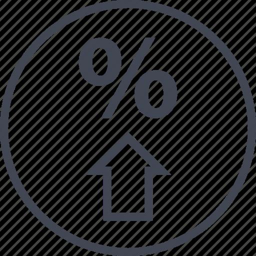 buying, ecommerce, rate, shop, shopping, up icon