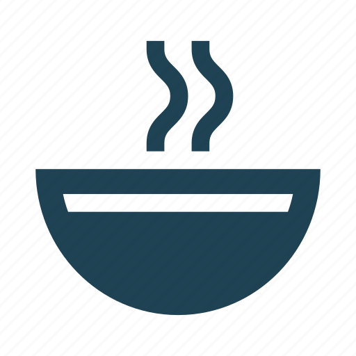 bowl, dish, food, hot, plate, shopping, soup icon