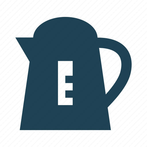boiling water, electric kettle, electrical, hot, hot water, kettle, kitchen icon
