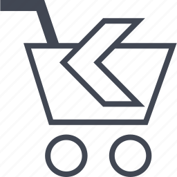 back, buying, cart, ecommerce, shop, shopping icon