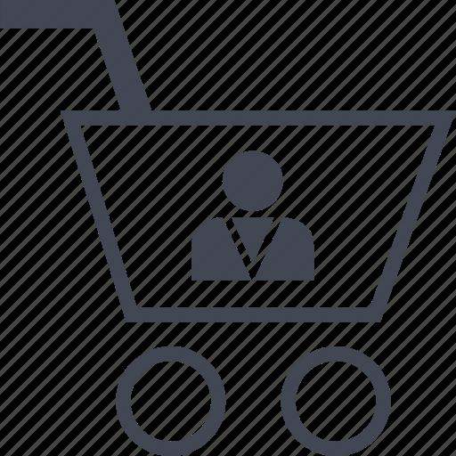 buying, cart, customer, ecommerce, shop, shopping icon
