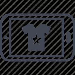 buying, ecommerce, shop, shopping, tshirt icon