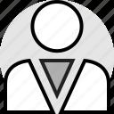friend, man, person, profile, user icon