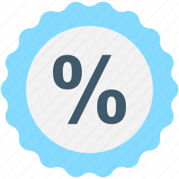 business, discount offer, discount ratio, percentage, percentage ratio icon