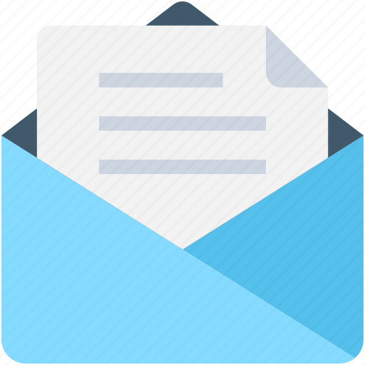 correspondence, documents, email, envelope, letter icon