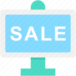ad board, advertisement, sale, sale board, signboard icon