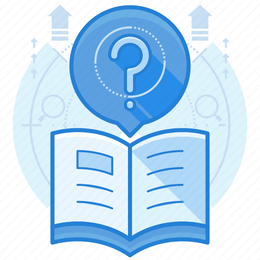 a, f, q, questions icon