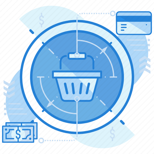 cash, credit card, method, payment, shopping icon