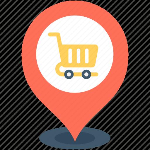 location marker, location pin, map locator, map pin, store location icon