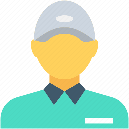 avatar, courier service, delivery boy, postman, shipping icon