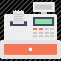 buy, cash, cashier, money, pay, register, shopping icon