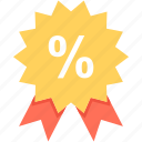 discount badge, discount offer, discount tag, offer, percentage