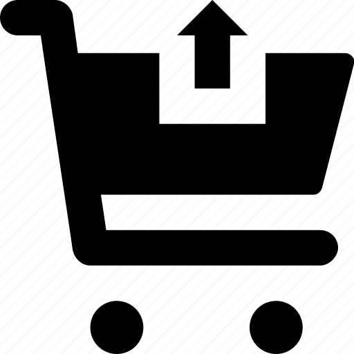 cart, ecommerce, remove from cart, shopping, trolley icon