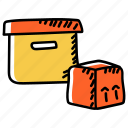boxes, cardoards, cartons, packaging, parcels