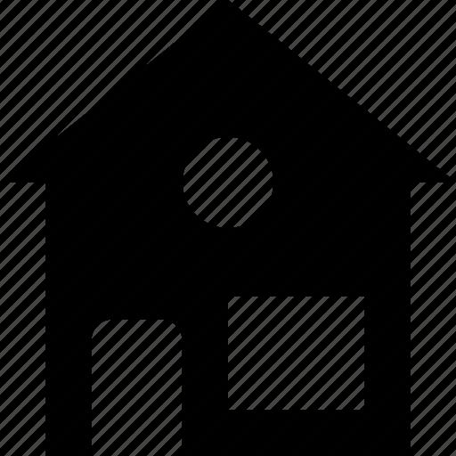 cabin, home, house, hut, villa icon