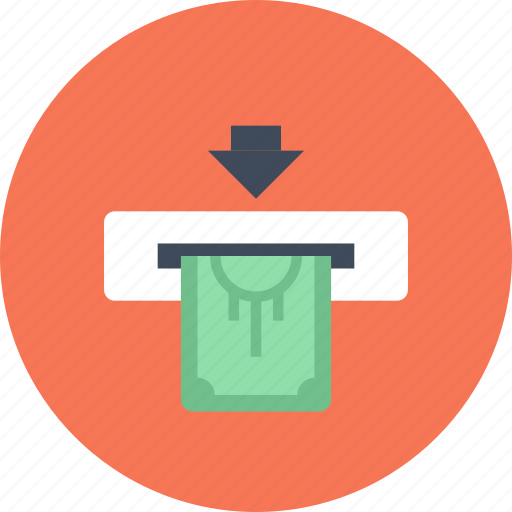 atm, bank, cash, currency, finance, machine, money icon