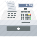 billing, invoice, machine, printer icon