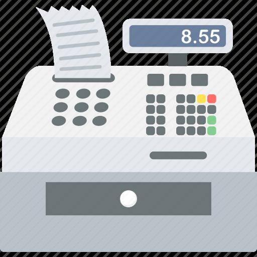 billing, invoice, machine, printer icon