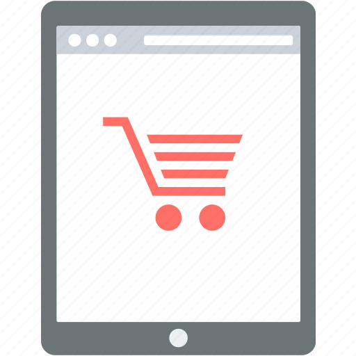 buy, cart, ecommerce, mobile, online, shop, shopping icon