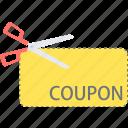 coupon, discount, label, voucher