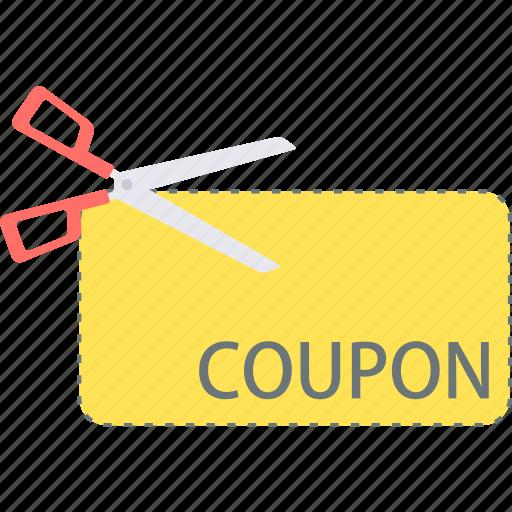 coupon, discount, label, voucher icon