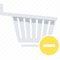 cart, eject, shop, shopping, to icon