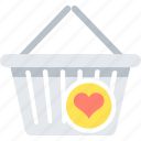 cart, favorite, shopping, wishlist icon