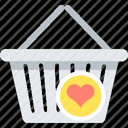 cart, favorite, shopping, wishlist icon