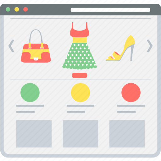 ecommerce, online, products, sale, shop, shopping, website icon