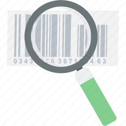 barcode, billing, code, product, search icon
