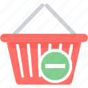 cancel, cancel items, cart, from, item, remove icon