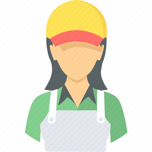 assistant, cook, female, help, sales, salesgirl icon
