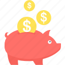 cashback, funds, money, payment, piggybank, save, savings icon