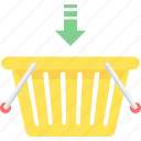 add, basket, cart, shopping, to icon