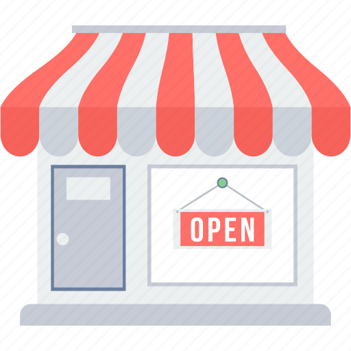 Open, shop, market, store icon - Download on Iconfinder
