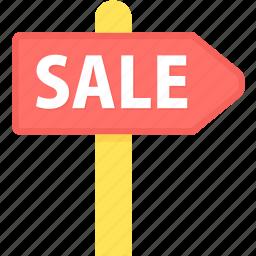 board, offer, sale icon