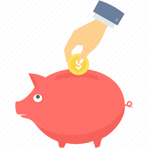 bank, finance, guardar, money, piggy, save, saving, savings icon