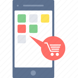 app, apps, mobile, shop, shopping icon