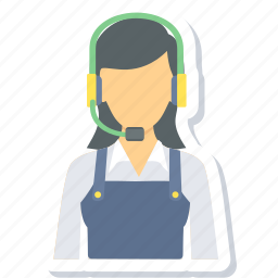 call center, customer, help, question, service, support icon
