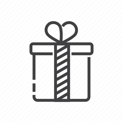 box, gift, package, present, product icon