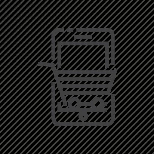 commerce, ecommerce, m, online, shopping icon
