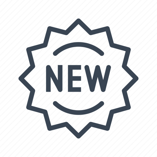 new, offer, shopping, sticker icon
