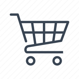 caddy, cart, ecommerce, shopping, trolley icon