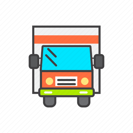 Cargo, delivery, shipping, transport, truck icon - Download on Iconfinder