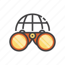 find, magnifying glass, search, view, zoom icon
